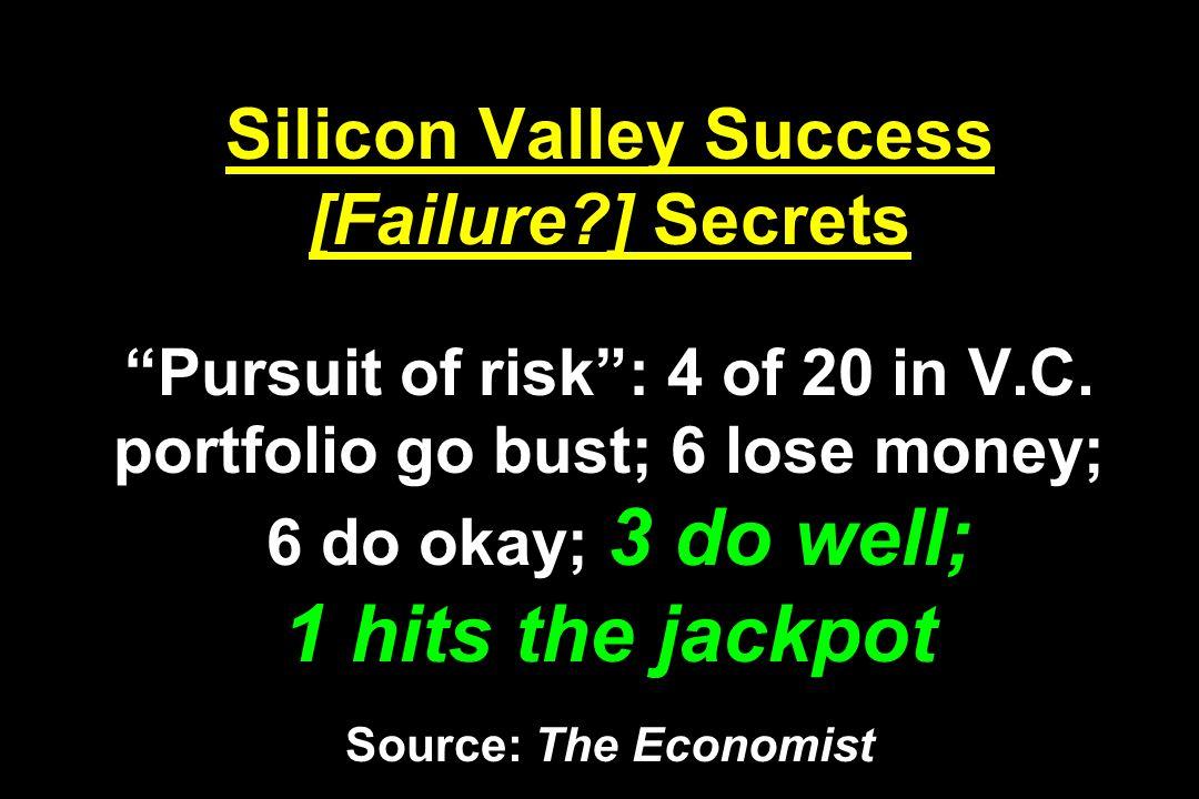 Silicon Valley Success [Failure
